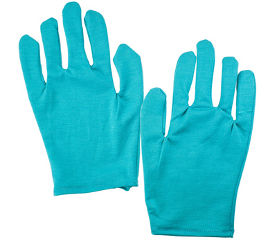 FLP 9886Teal Just Because Moisturizing Gloves Pair Teal