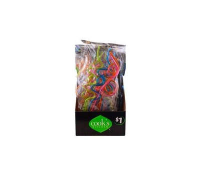 FLP 9057 Great Ideas Straws Silly 4Ct