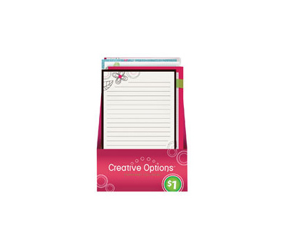 FLP 9866 Creative Options Writing Pad Assorted Colors