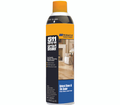 Miracle Sealants GRTSLRAEROC Sealer Grout In Ex Spray 15 Ounce