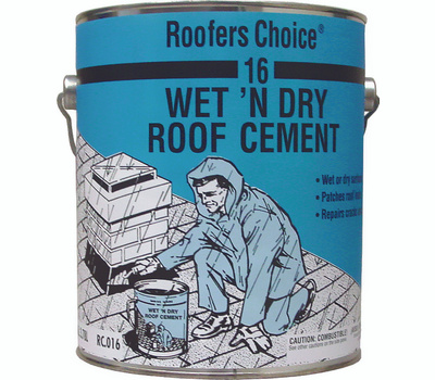 Henry RC016042 Roofers Choice Cement Rf Fibered Wet Dry.9g
