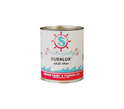 California Products M731-4 Duralux Haze Gray Gloss Marine Enamel Quart Oil Based