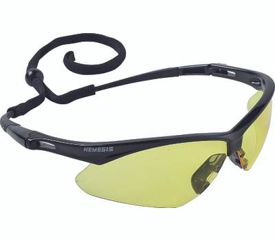 Jackson Safety 25659 Nemesis Glasses Safety W/Amber Lens