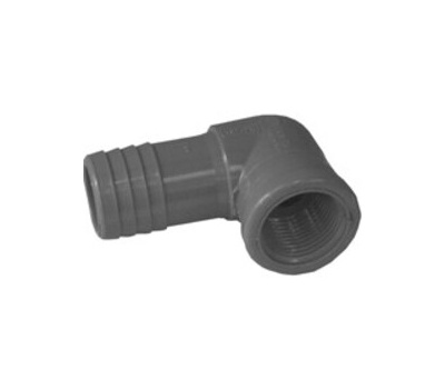 Boshart Industries 354117 1 By 3/4 Inch Poly Insert Combo Reducing Elbow Insert X FIP