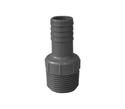 Boshart Industries 350417 1 By 3/4 Inch Poly Insert Male Reducing Adapter