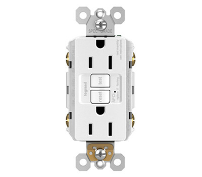Pass & Seymour AF15TRWCC4 15 Amp GFCI Arc Fault Receptacle White