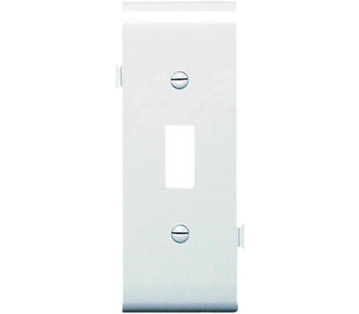Pass & Seymour PJSC1W White Toggle Section Wall Plate