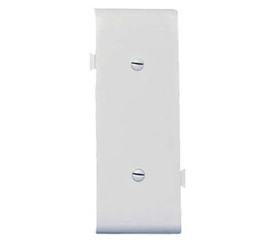 Pass & Seymour PJSC14W White Blank Center Section Sectional Nylon Wall Plate