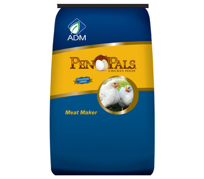 Adm Animal Nutrition 70012AAA44 50 Pound Meat Maker Crumble
