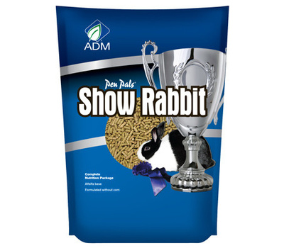 Adm Animal Nutrition 81657AAAPB 5 Pound Show Rabbit Feed