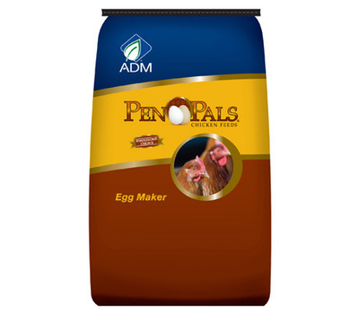 Adm Animal Nutrition 70010AAA46 25 Pound Egg Maker Crumble