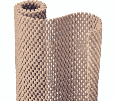 Kittrich 04F-C6L59-06 Contact Ultra Grip Liner 12 Inch By 4 Foot Taupe