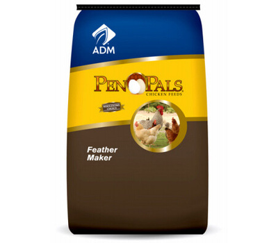 Adm Animal Nutrition 70744AAAE4 50 Pound Feather Maker