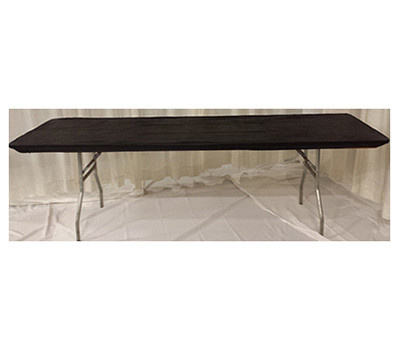Kwik Covers 3072PK-BLK 30X72 BLK Tablecover
