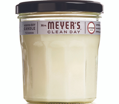 Mrs Meyers 41116 7.2 Ounce Lavend Soy Candle