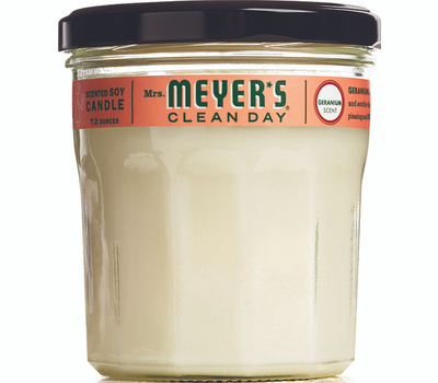 Mrs Meyers 43116 7.2 Ounce Geran Soy Candle
