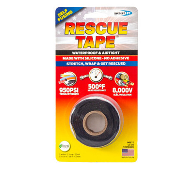 Seal It RT12012BBL 1 Inch X 12 Foot BLK Rescue Tape