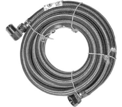 Homewerks 7223-48-38-6E 3/8 By 3/8 By 48 Inch Dishwasher Connector