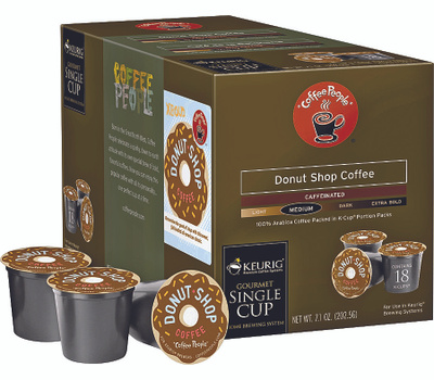 Keurig 00732 Coffee People 18 Count Donut Shop Coffee K Cups