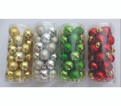 Holiday Basix C-J14025 Ornament 30Mm 24Ct