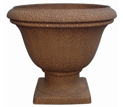 Williams Bay SL6080-S10 Lillian 16 Inch Rust Urn