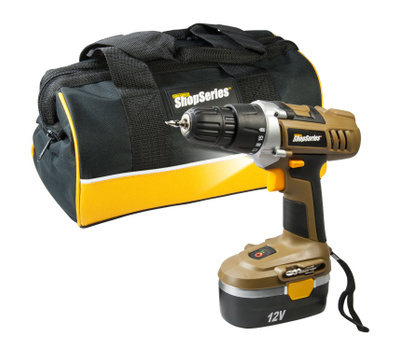 Rockwell RC2122K Shop Series 12 Volt 3/8 Inch Cordless Drill Driver Kit