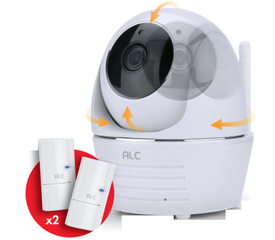 ALC Atoms Labs AWF33-S2 Securty Sys Pan/Tilt Cam 1080P