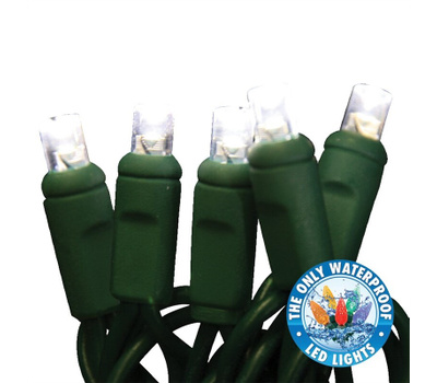 Holiday Bright Lights LEDBX-WA50-PW6 Lghts Comm Grd Led Pure Wh 50l