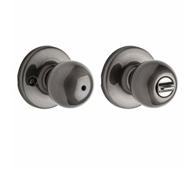 Kwikset 300P 15A 6AL RCS Polo Bed And Bath Privacy Lockset Antique Nickel