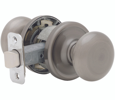 Kwikset 720J 15 CP Juno Hall And Closet Passage Lockset Satin Nickel