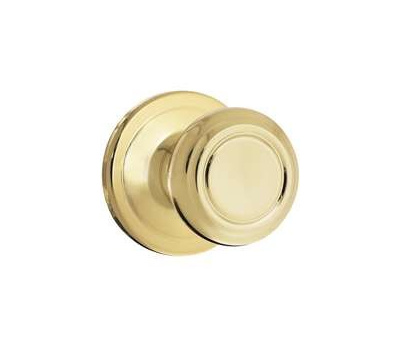 Kwikset 720CN 3 CP Cameron Hall And Closet Passage Lockset Polished Brass