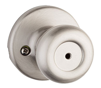 Kwikset 300T 15 CP Tylo Bed And Bath Privacy Lockset Satin Nickel