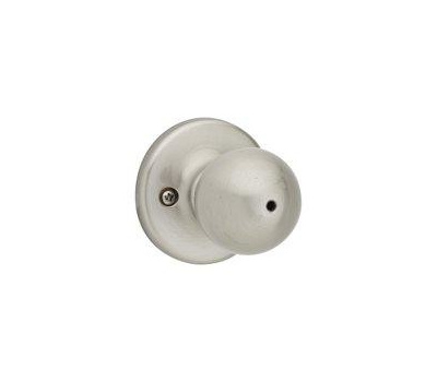 Kwikset 300P 15 RCL RCS BX Polo Bed And Bath Privacy Lockset Satin Nickel
