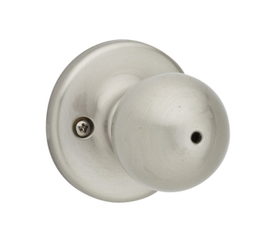Kwikset 300P 15 6AL RCS V1 Polo Bed And Bath Privacy Lockset Satin Nickel
