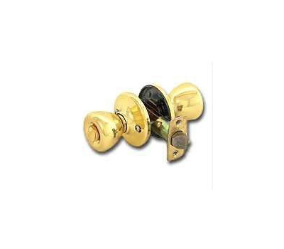 Kwikset 400T 3 6AL RCS Tylo Keyed Entry Lockset Polished Brass