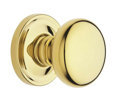 Baldwin Hardware 5015 PASS Hall And Closet Passage Lockset Non Lacquered Brass