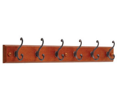Brainerd 139641 27 Inch Caramel And Bronze With Copper Highlights 6 Hook Rail