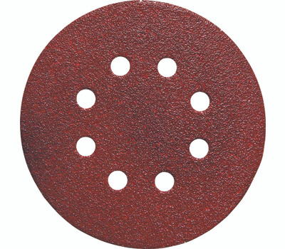 Porter Cable 725802225 5 Inch 8 Hole Adhesive Back Aluminum Oxide 220 Grit Very Fine 25 Pack