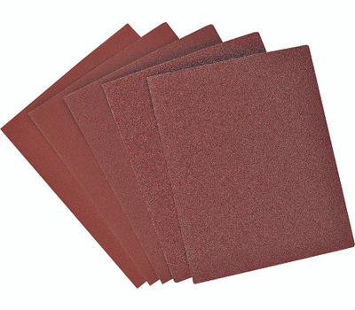 Black & Decker 74-606 1/4 Sheet Sandpaper Asst