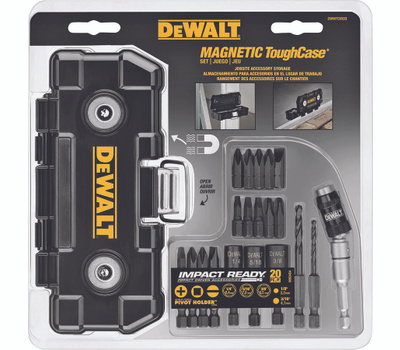 DeWalt DWMTCIR20 Tough Case Impact Ready Mag Case 20Pc