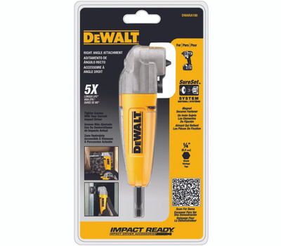 DeWalt DWARA100 Impact Ready Right Angle Drill Attachment