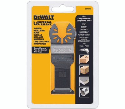 DeWalt DWA4203 Blade Oscillating Wood W/Nails