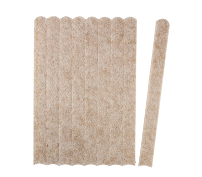 National Hardware S845-208 Stanley Heavy Duty Self Adhesive Felt Strips 1/2 By 6 Inch Oatmeal 9 Pack