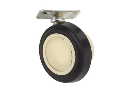 National Hardware S846-281 Stanley Ball Plate Casters 2-1/4 Inch Brass 2 Pack