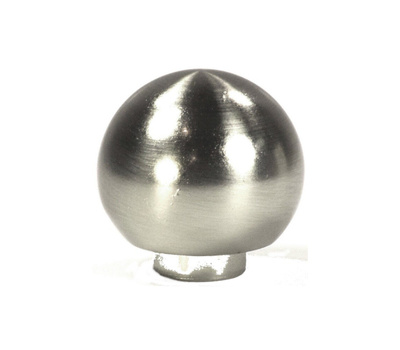 National Hardware N287-055 Round Ball Bi Fold Folding Door And Cabinet Knob 1-1/4 Inch Satin Nickel