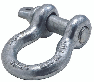 National Hardware N830-310 Anchor Shackle And Pin 5/8 Inch Galvanized Forged Steel