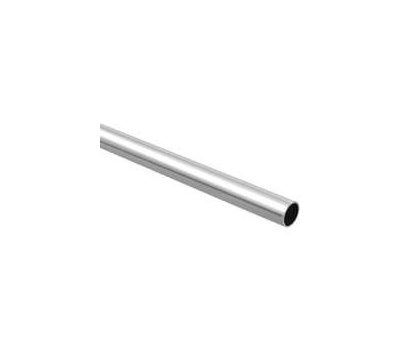 National Hardware S822-099 S820-027 Stanley Closet Rod Round 1-5/16 By 96 Inch Tubular Steel Chrome