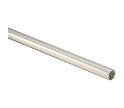 National Hardware S822-101 Closet Rod Round 1-5/16 By 96 Inch Tubular Steel Satin Nickel
