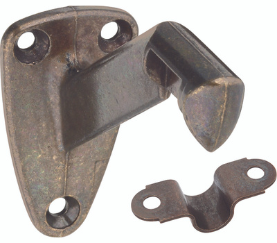 National Hardware N830-115 Heavy Duty Handrail Bracket Antique Brass