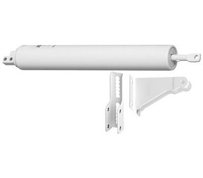 National Hardware N100-033 Medium Duty Door Closer White